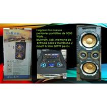 Parlante Potenciado U-line Ul-2110 Bluetooth