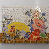 Porta Chaves Em Mosaico