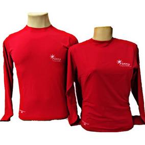 Kit 2 Camiseta Proteção Solar Uv Slim Fitness -blusa Unissex