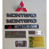 Montero Mitsubishi 1985 - 1997 Emblemas Y Calcomanias