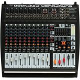 Mezcladora Behringer Amplificada 2x800 W 8 Xlr, Pmp4000