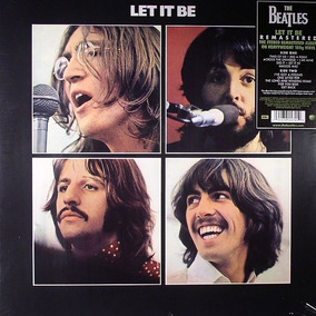 Vinilo Beatles The Let It Be Lp Nuevo En Stock