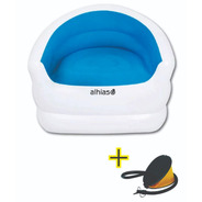 Sillón Inflable Alhias Acc-103 + Inflador De Regalo!