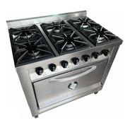 Cocina Industrial Rovesco 6h 90cm. C/ Valvula Acero Inox.