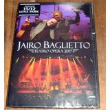 Jairo Baglietto Teatro Opera 2017 Cd + Dvd Nuevo / Kktus