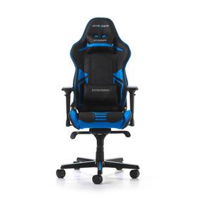 Cadeira Dxracer R-series - Black/blue (rv131nb)