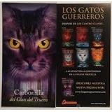 Lote 12 Gatos Guerreros Cuatro Clanes Na Profecía Salamandra