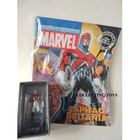 Coleção Miniaturas Marvel - Panini - Capitão Britânia