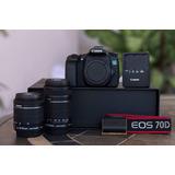 Canon Eos 70d Camara Fotografia Profesional