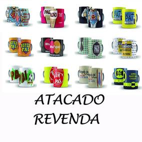 Kit Combo Lote 12 Caneca Dia Dos Pais Atacado Revenda Oferta
