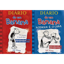 Diário De Um Banana Volumes 1 E 2 - Capa Dura