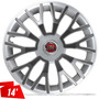 Calota Fiat Palio Uno Way Vivace Siena Aro 14 Silver Graphit
