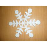 Copo Nieve Decoracion Navidad, Plastico 22 Cm