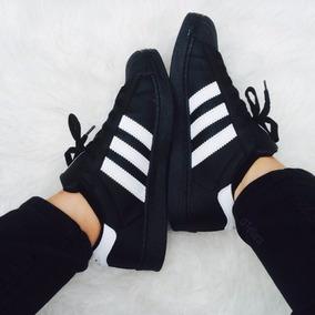 zapatillas adidas clasicas negras