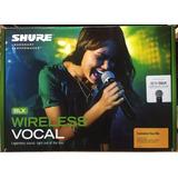Shure Blx24/b58 Microfono Inalambrico De Mano Beta58