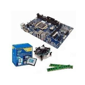 Kit Intelh61 Lga1155 + Intel I3 + Mem 4 Gb Ddr3 + Cooler