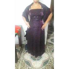 53a849a33d Vestidos Longos Cor Principal Púrpura Femininas em Rio de Janeiro ...