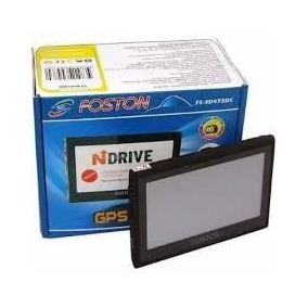 Gps Foston 3d 473dc 4.3 Transmissor Fm - Tv Digital Embutida