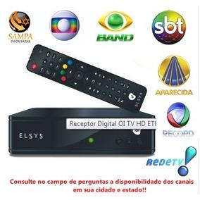 Receptor Elsys Oi Tv Livre Etrs35 Sem Mensalidade..promoção