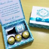 Arquivo De Corte Caixa Convite Garrafinha E Ferrero