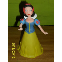Princesa Blanca Nieves En Porcelana Fría Para Tu Torta