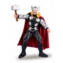 Boneco Thor 55 Cm Articulado Premium Marvel Mimo.