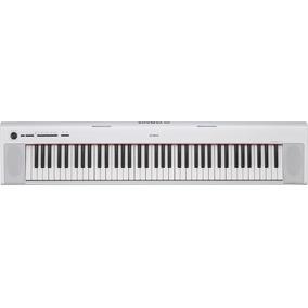 Piano Portatil Yamaha 76 Teclas Blanco Inc. Adapt, Np32whspa