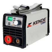 Máquina De Solda Inversora 140a 220v Digital Kende-top275x