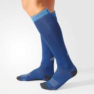 Meia De Compressão adidas Running Climachill Azul Nº 40 A 42