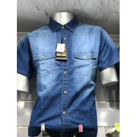 Camisa De Jeans De Caballero