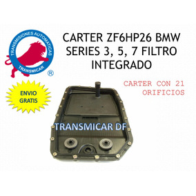 Carter Bmw Series 3, 5, 7 Zf6hp26 Filtro Integrado Plastico