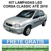 Kit Lâmpadas Automotiva Led Corsa Classic Wind Super.