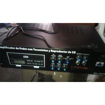 Amplificador De Poder Ottocon Reproductor De Cd Y Tocacintas