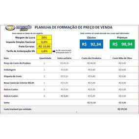 Planilha De Formação De Preço De Venda Mercado Livre 2018
