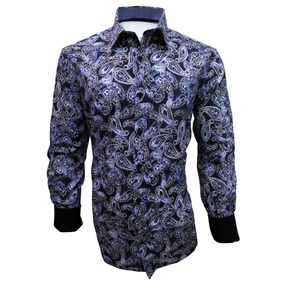 Camisa Casual Azul Manga Larga Caballero English Laundry