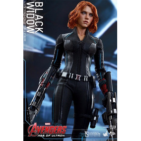 Black Widow Vingadores Viuva Negra Hot Toys 30cm Thor Hulk