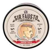 Cera Pomada Opaca Mate Sir Fausto X 200 Ml Barber
