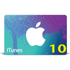 Itunes Gift Card Original Código Valor 10 Usd Usa