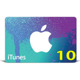 Itunes Gift Card Original Código Valor 10 Usd Usa