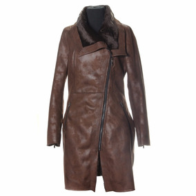 Campera Derly Marron Xl Extra Large Camperas Mujer