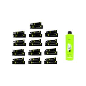 Kit Inoa 13 Colorações + 1 Oxidante De 1litro
