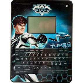 Max Tablet Do Max Steel 80 Atividades Bilíngue - Candide