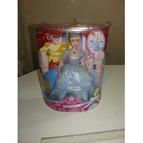 = Boneca Barbie Cinderela Princesa Lacrada Disney 2007 Absol