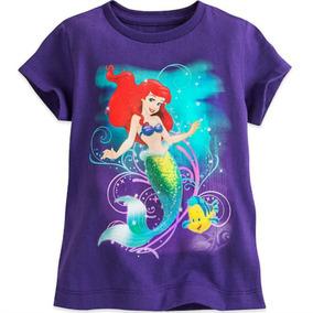 Remera La Sirenita Talle 2 Disney Store C/ Etiqueta