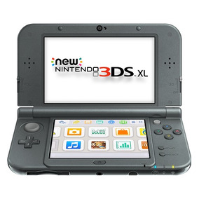 New Nintendo 3ds Xl System Black, Macrotec