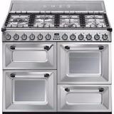 Cocina Smeg Mixta Tr4110x 110cm Xclusivos