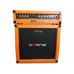 Amplificador Cabeçote Guitarra Borne Gladiator 1200 Orange