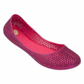 Mel Mango Zapato Flat Dama Balerina Rosa Mel By Melissa