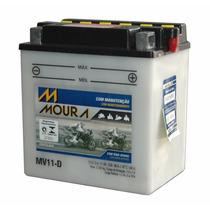 Bateria Suzuki Gs 500e Gsx 600f Dr650se Moura Mv11-d Yb10lb2