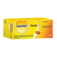 Supradyn F Suplemento Vitaminico X 30 Grageas